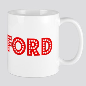 Retro Stamford (Red) Mug