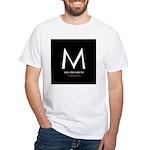 """M the President"" White T-Shirt"