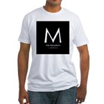 """""""M the President"""" Fitted T-Shirt"""