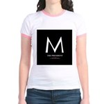 """""""M the President"""" Jr. Ringer T-Shirt"""