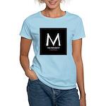 """M the President"" Women's Pink T-Shirt"