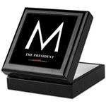 """M the President"" Keepsake Box"