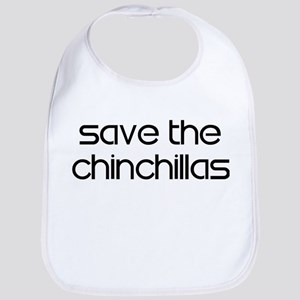 Save the Chinchillas Bib