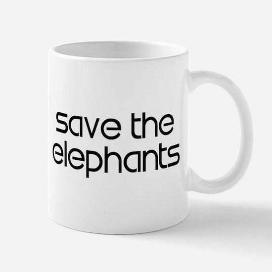 Save the Elephants Mug