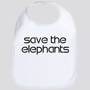 Save the Elephants Bib
