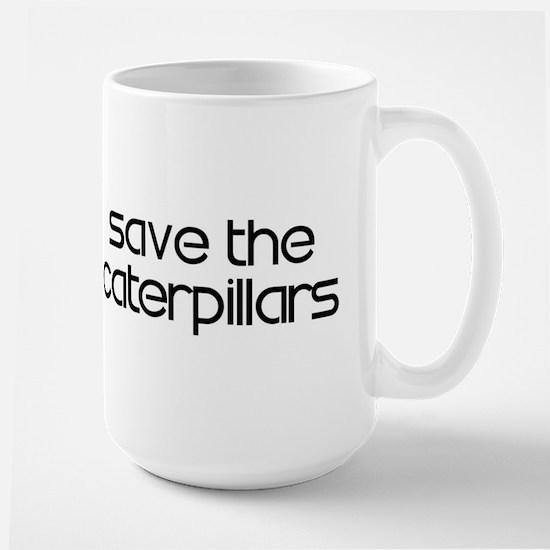 Save the Caterpillars Large Mug