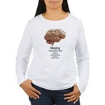 I Have Lost My Mind Women's Long Sleeve T-Shirt