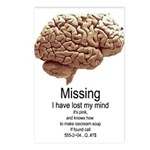 I Have Lost My Mind Postcards (Package of 8)
