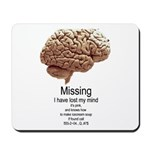 I Have Lost My Mind Mousepad