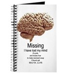 I Have Lost My Mind Journal