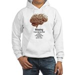 I Have Lost My Mind Hooded Sweatshirt