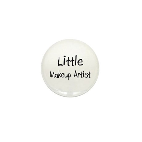 Little Makeup Artist Mini Button (10 pack)