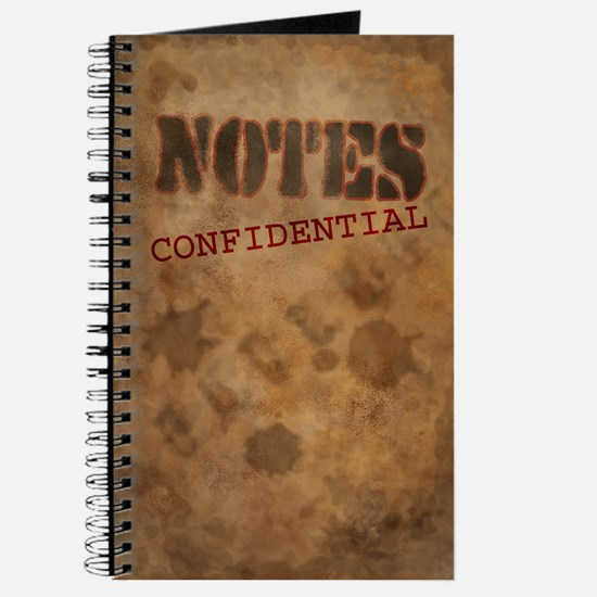 Confidential Notes Journal