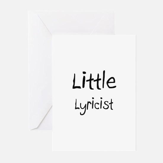 Little Lyricist Greeting Cards (Pk of 10)