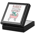 Babies Sound Like Raptors Keepsake Box