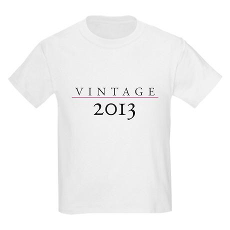 Vintage 2013 Kids Light T-Shirt