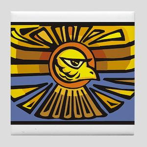 Abstract Eagle Tile Coaster