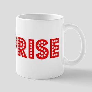 Retro Surprise (Red) Mug