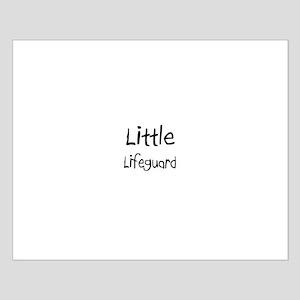 Little Lifeguard Small Poster