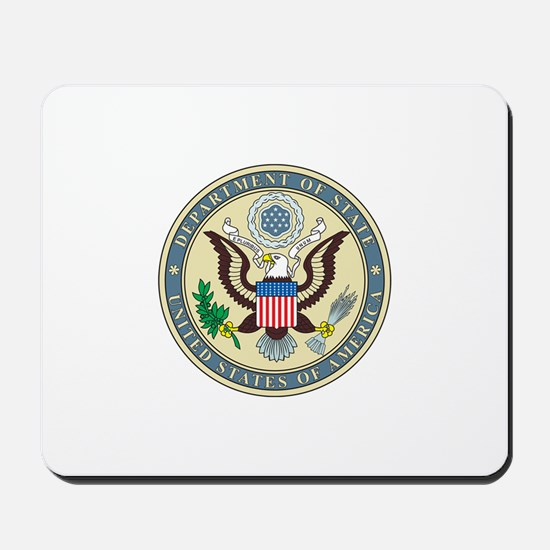 STATE-DEPARTMENT-SEAL Mousepad