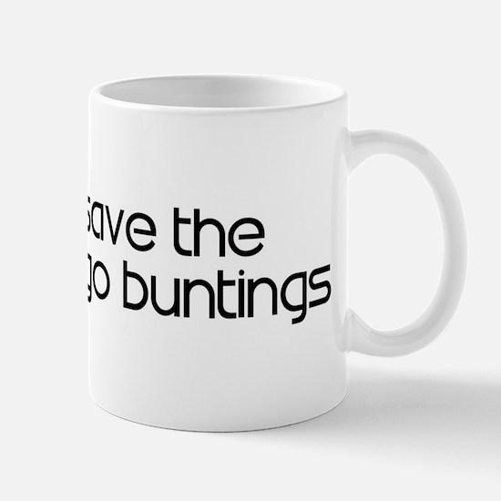 Save the Indigo Buntings Mug