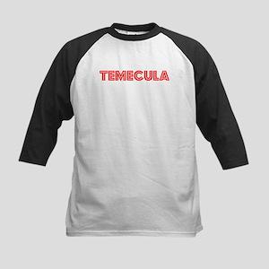 Retro Temecula (Red) Kids Baseball Jersey