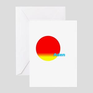 Aden Greeting Card