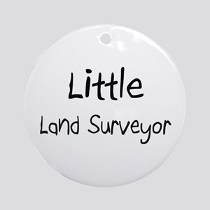 Little Land Surveyor Ornament (Round)
