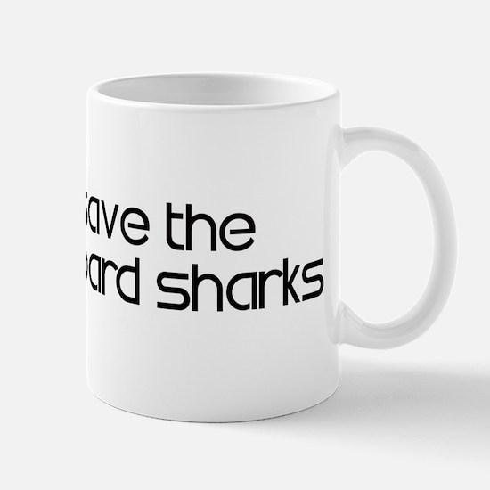 Save the Leopard Sharks Mug