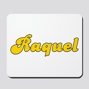 Retro Raquel (Gold) Mousepad
