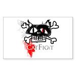 catfight goth sticker