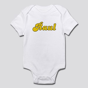 Retro Raul (Gold) Infant Bodysuit