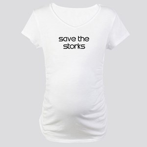 Save the Storks Maternity T-Shirt