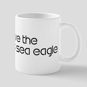 Save the Stellers Sea Eagle Mug