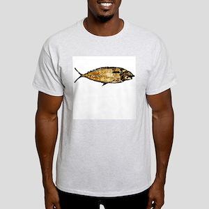 Darwin not fiction Ash Grey T-Shirt