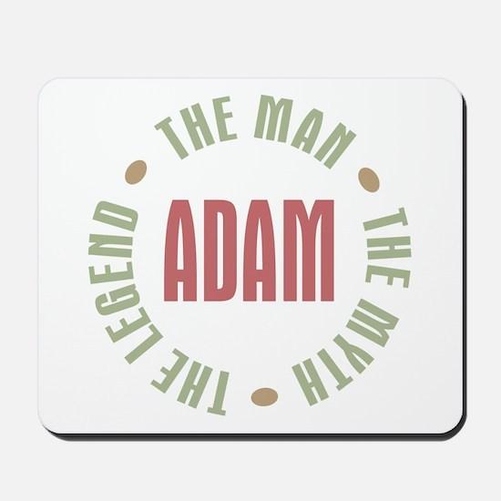 Adam Man Myth Legend Mousepad