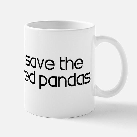 Save the Red Pandas Mug