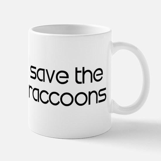 Save the Raccoons Mug