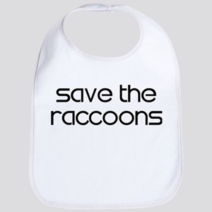 Save the Raccoons Bib