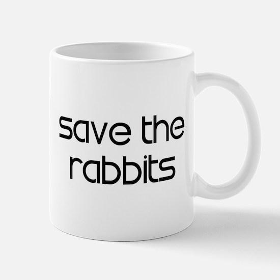 Save the Rabbits Mug