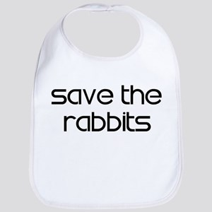 Save the Rabbits Bib