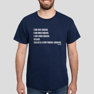 Phunny Language. Dark T-Shirt