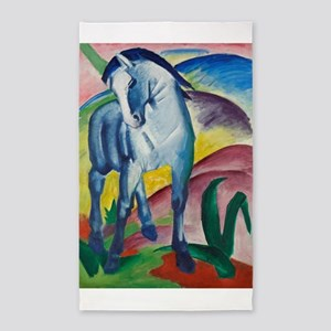 Blue Horse by Franz Marc Area Rug