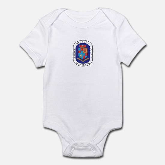 PRINCE-GEORGE-COUNTY Infant Bodysuit