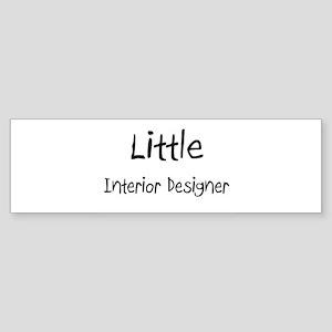 Little Interior Designer Bumper Sticker