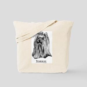 Yorkie Dog Breed Tote Bag