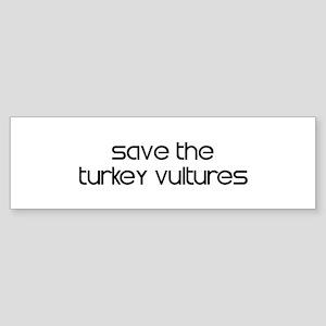 Save the Turkey Vultures Bumper Sticker