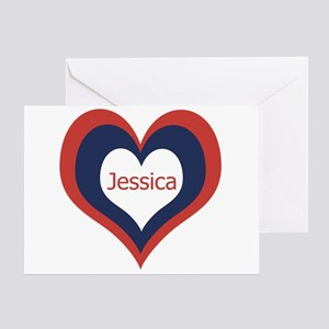 Jessica - Greeting Card