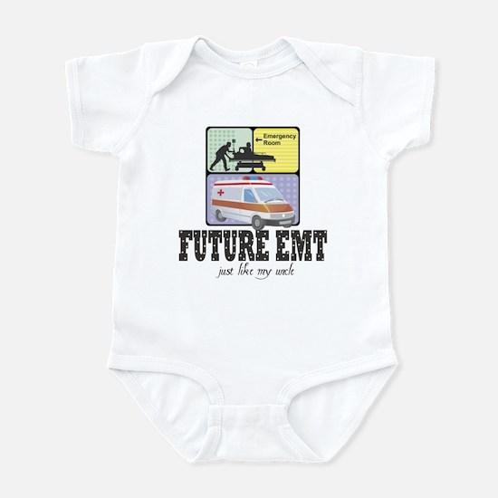 Future EMT Like My Uncle Baby Infant Bodysuit