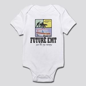 Future EMT Like my Mommy Baby Infant Bodysuit